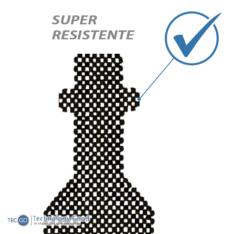 RESPALDAR DE AUTO ANTITRANSPIRANTE MADERA NEGRO