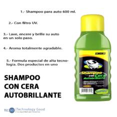 Shampoo Con Cera 600ML Simoniz