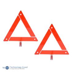 Triangulo Vial 2 piezas
