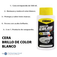 Cera De Auto Blanco 500ml Simoniz
