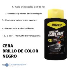 Cera De Auto Negro 500ml Simoniz