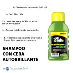 Shampoo Con Cera 300ml Simoniz