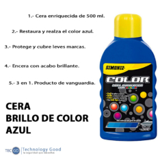 Cera De Auto Azul 500ml Simoniz