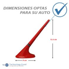 Antena De Auto Unicornio Decorativa Roja