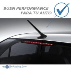Antena De Auto Unicornio Decorativa Negro