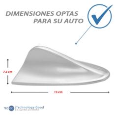 Antena De Auto Tiburon Decoratiiva Plomo
