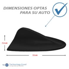 Antena De Auto Tiburon Decoratiiva Negro