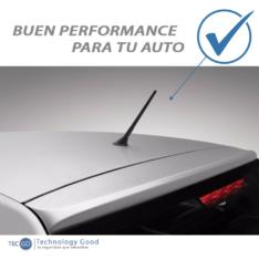 Antena De Auto Unicornio Grande Negro