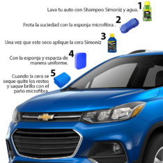 Kit De Tratamiento De Pintura Para Auto Azul Simoniz