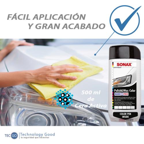 Cera Liquida De Auto Blanco Sonax 500ml/pintura/rayones
