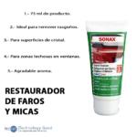 Restaurador Abrasivo Para Faros Y Micas/pulidor