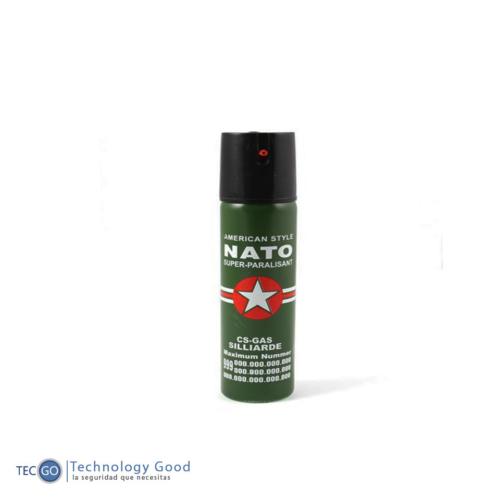 Gas Pimienta Spray 60ml/ Defensa Personal/ Antirobo