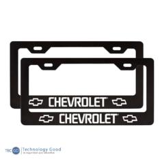 Portaplaca Tipo Chevrolet