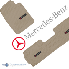 Piso De Auto Tipo Mercedes Benz 3Pzas Beige