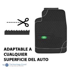 Piso De Auto Tipo Land Rover  4Pzas Negro