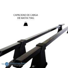 BARRAS DE TECHO DE AUTO 48 PULG CGANCHO Ajuste Fácil