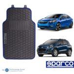 Piso De Auto Sparco 3 Pzas/tapiz/protector/suelo/azul