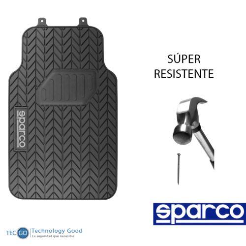 Piso De Auto Sparco 3 Pzas/tapiz/protector/suelo/negro