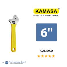 Llave Inglesa Francesa 6″ Kamasa