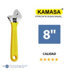 Llave Inglesa Francesa 8″ Kamasa