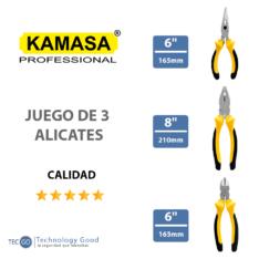Juego De Alicates kamasa