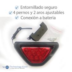 LUZ DE FRENO 12 LEDS 12V SOPORTE AJUSTABLE