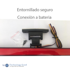 LUZ DE FRENO DIRECCIONAL LED AUTO (A36N7002)