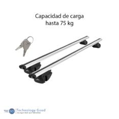 Barras De Techo 55″  Camioneta Aluminio Winbo C/Llave (W58009 55sl)