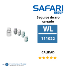 SEGURO DE RUEDA 12MM X 1.5 CERRADO (WL111022)