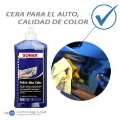 Kit De Tratamiento De Pintura Para Auto Azul SonaxCera