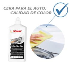 Kit De Tratamiento De Pintura Para Auto Blanco Sonax Cera