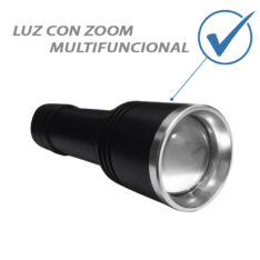 Linterna de emergencia para auto con zoom multifuncional