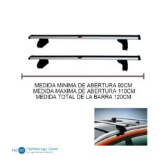 BARRA DE TECHO PEGADO ALUMINIO WINBO (W63063)