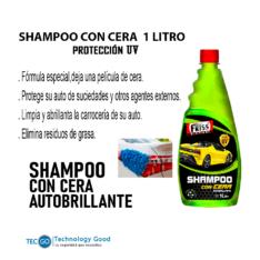 SHAMPOO CON CERA  AUTOBRILLANTE FRISS 1-LITRO