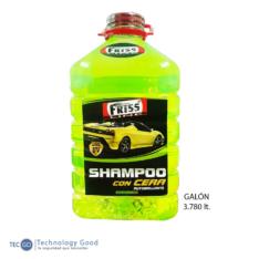 SHAMPOO CON CERA AUTOBRILLANTE GALON 3.780L FRISS