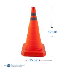 Cono De Emergencia Retractil 40cm